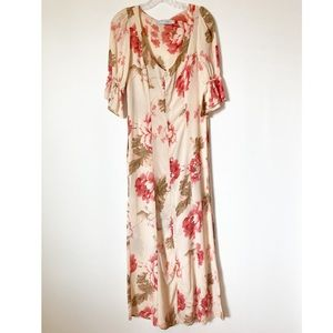 Rare Christy Dawn Lennon Rose Floral Maxi Dress
